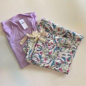 GAP//spring+summer pajama bundle S NWT